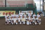 第6回JA新潟みらい会長争奪学童野球大会 準優勝